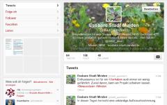 Screenshot des Twitteraccounts
