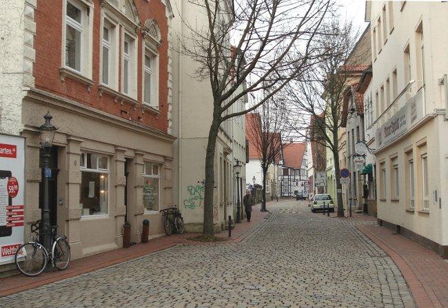 Foto: Ein Blick in die Mindener Ritterstrasse