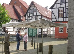 Foto: Johanniskirchhof in der Altstadt