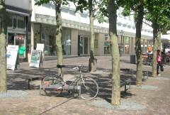 Foto: Die Fussgängerzone Scharn im Sommer