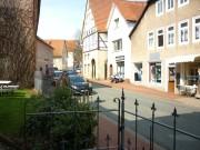 Pfarrhaus: Blick in die Königstrasse