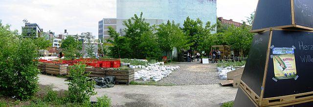 Berlin-Kreuzberg: Die Prinzessinnengärten am Moritzplatz