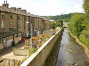 Todmorden in Northwest Yorkshire, Grossbritannien