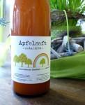 Apfelsaft von den Stadtteilgärten in Hannover