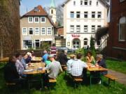 Biergarten-Feeling auf demSt. Simeonis-Rasen