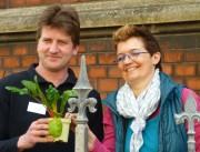 Projektstart: Die Initiatoren Stefan Schröder und Bettina Fuhg