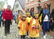 Kinder von der Kita Ritterstrasse