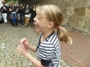 Samba-Trommeln, ein Lebensfreude-Elixier für Kinder?
