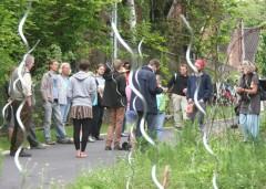 Der Stadtrundgang beginnt am unvergEssbar-Schaugarten