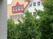 Blick über den Balkonrand