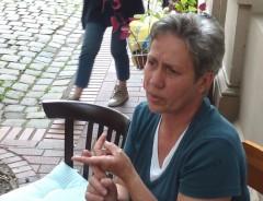 Sabine bei Argumentieren