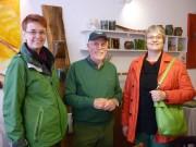 Ute Koczy (MdB, links) ist zu Besuch gekommen.