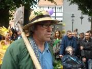 Karl-Heinz sehr stilecht auf dem Mindener Altstadtfest