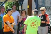 KSG-Vorsitzender Riemekasten bei den Rathaus-Paddlern
