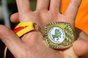 Die Medaille vom Weserdrachencup