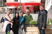 Sabine, Andrea, Bettina, Burkhard und Stefan
