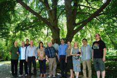Gruppenfoto im Grünen