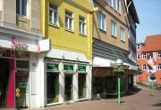 Die Opferstrasse rechts führt zum Martinikirchhof