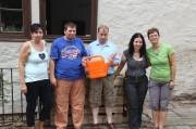 Von links Beatrice, Andreas (2x), Andrea und Bettina