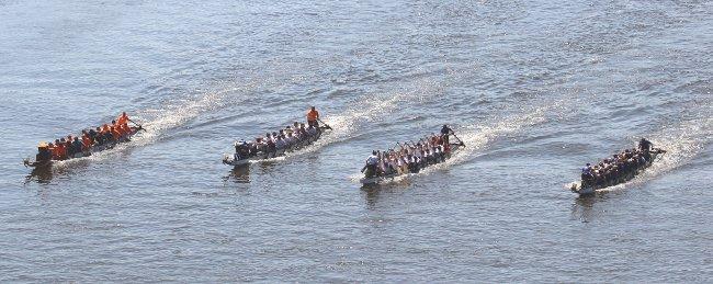 Drachenbootrennen beim WDC