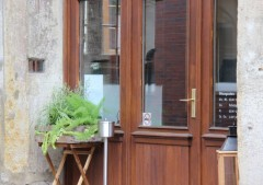 Eingangstür Cafe Klee