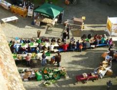 Schnippelparty in der Unteren Altstadt