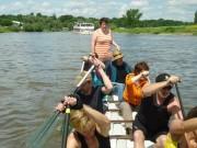 Nicht nur Drachenboote  auf der Weser