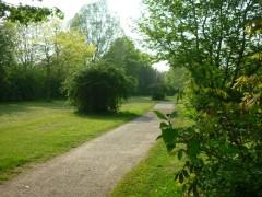 Goethepark im Frühling